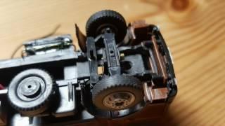 Umbau Eines H0 LKW Standmodells Zum DCCAR