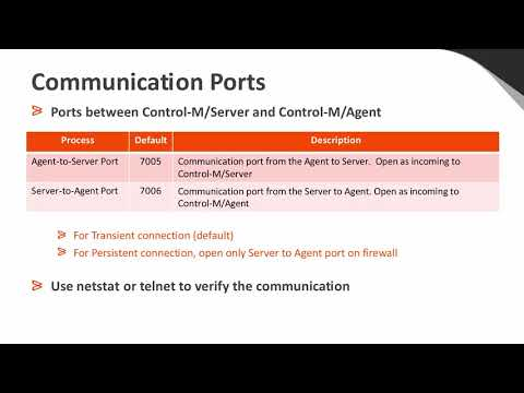 Connect With Control-M: Control-M/Agent Troubleshooting Mp3