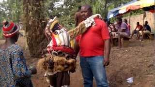 preview picture of video 'Enugu Inyi Masquerade (mmanwu) 1'