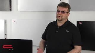 Нагревательная панель СТН 700 Вт (с мех. термостатом) от компании Polmart - видео