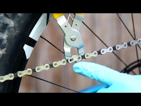 Kettenschloss am MTB montieren / demontieren