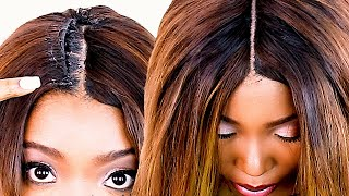 Creating A Invisible Part! No Leave Out! Very Natural Looking!