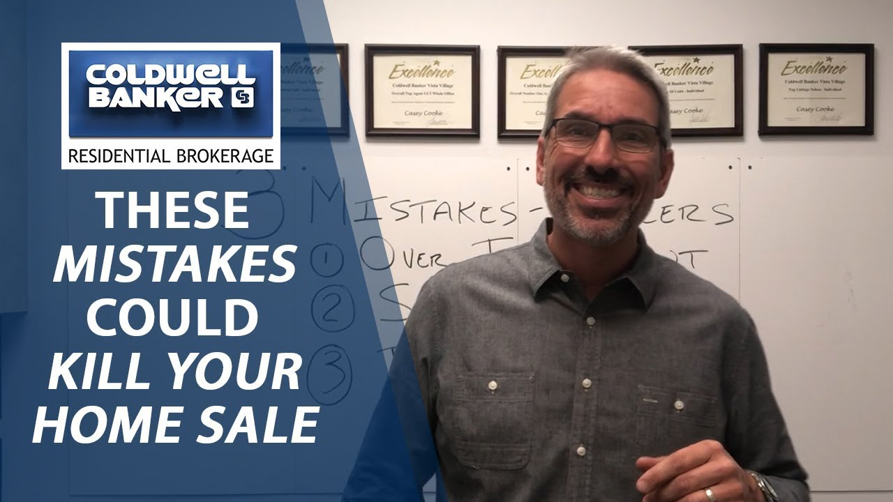 Don't Make These Home Selling Mistakes