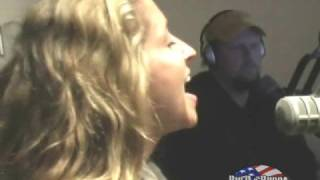 Heidi Newfield sings Cry Cry LIVE in studio