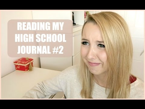 Reading my High School Journal
