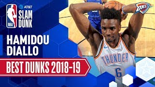 Hamidou Diallo's Best Dunks Of The Season | 2019 AT&T Slam Dunk Participant