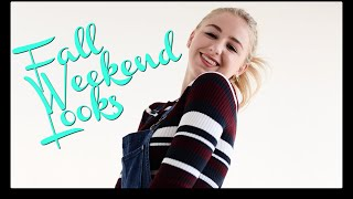 Weekend Outfit Ideas for Fall! | Chloe Lukasiak