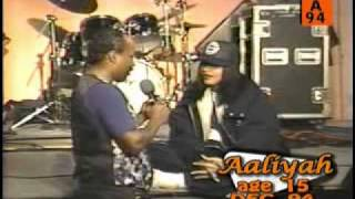 Aaliyah Back And Forth Live & Interview ( Very RARE)