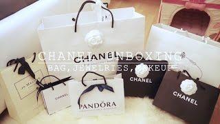 CHANEL UNBOXING (Bag, Jewelries, Makeup...)| Angelbirdbb