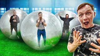 LAST ONE TO LEAVE THE ZORB WINS A SECRET PRICE! Challenge