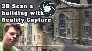 3D Scan a Building with Reality Capture