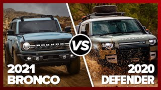 Ford Bronco Vs. Land Rover Defender: Battle Of The Ages