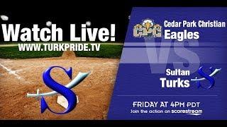 Girl's Softball - Sultan vs Cedar Park Christian