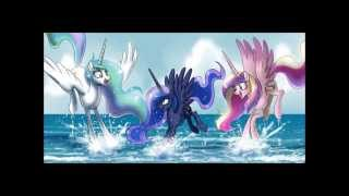Hey, Soul Sister - Train (MLP: Princess Celestia and Princess Luna)