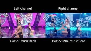 Girls' Generation - You Think [LIVE MR comparison]