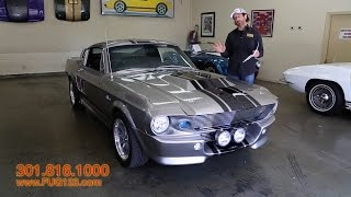 1967 ford mustang shelby gt500 eleanor tuning in 2009 by 1967 ford mustang gt500e eleanor for sale with test drive driving sounds and walk publicscrutiny Images