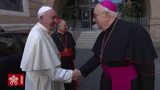 Il Papa inaugura il nuovo allestimento del Museo Etnologico 2019.10.18