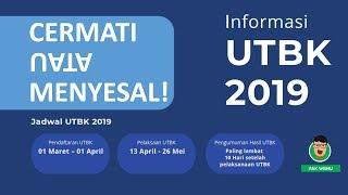 TERBARU! Info UTBK SBMPTN 2019 (Cermati Atau Menyesal)