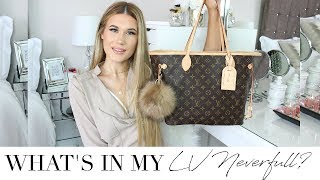 What's In My Carry On Bag? Louis Vuitton Neverfull MM