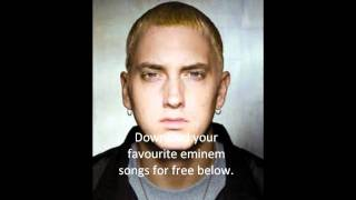 DOWNLOAD ALL EMINEM MP3 SONGS FREE INCLUDING NOT AFRAID AND LOVE THE WAY YOU LIE