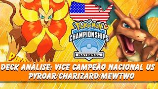 Pyroar  - (Pokémon) - 5º Pokémon TCG: Deck Vice Campeão Nacional US Pyroar/Charizard/Mewtwo