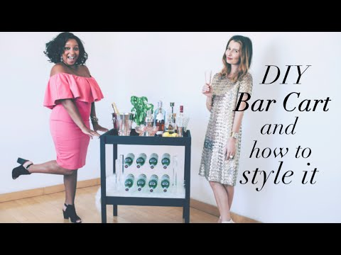 Turn An IKEA Changing Table Into A Classy, Inexpensive Bar Cart
