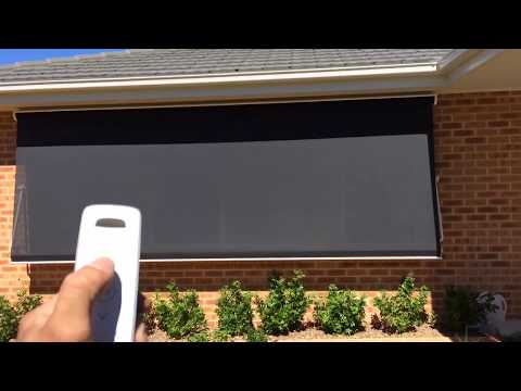 Somfy Motorized Pivot Arm Awning