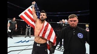 UFC Pittsburgh: Entrevista no octógono com Mike Perry