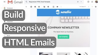 Build Responsive HTML Email Templates With HTML Tables & CSS