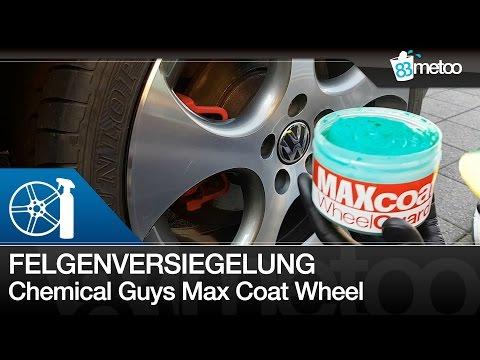 Chemical Guys Max Coat Wheel Guard Felgenversiegelung Anwendung und Test | Alufelgen versiegeln
