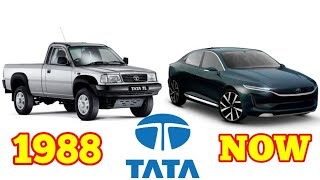 TATA Motors Evolution [ 1988 - NOW ] || TATA Motors History