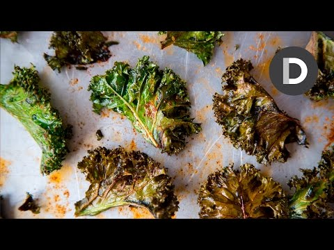 Video How to make Kale Chips...