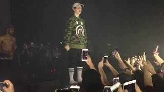Lil Xan X Diplo - Color Blind Live In NYC  (diplo not there )