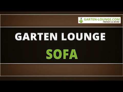 Garten Lounge Sofa