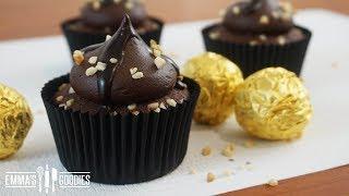 Ferrero Rocher Chocolate Cupcakes Recipe
