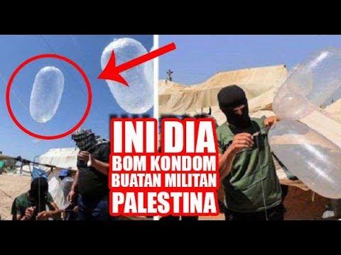 Lagi! Israel Dibuat Bingung dengan Bom Kondom Buatan Militan Palestina