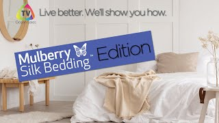 OSTV   Learn About Mulberry Silk Bedding - Zoom Interview