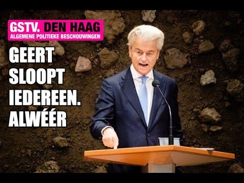 Geert Wilders SLOOPT weer eens IEDEREEN