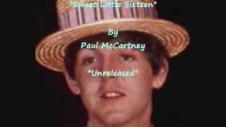 """Sweet Little Sixteen"" By Paul McCartney"