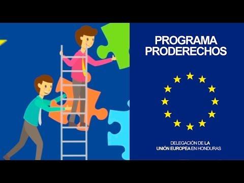 Programa PRODERECHOS - Unión Europea