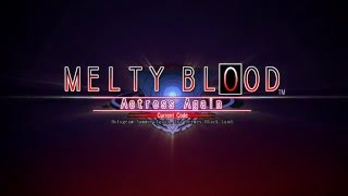 Melty Blood: Actress Again Current Code video