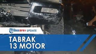 Kendarai Mobil dan Hilang Kendali, Pelajar SMP di Padang Tabrak 13 Motor dan Satu Pejalan Kaki