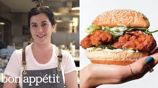 Claire Makes the Very Best Fried Chicken Sandwich | From the Test Kitchen | Bon Appétit