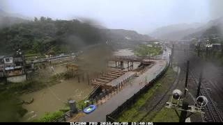 縮時攝影TimeLapse-長期觀測河川水位應用