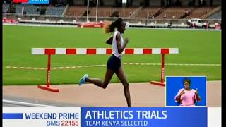 African Athletics Championships team selected