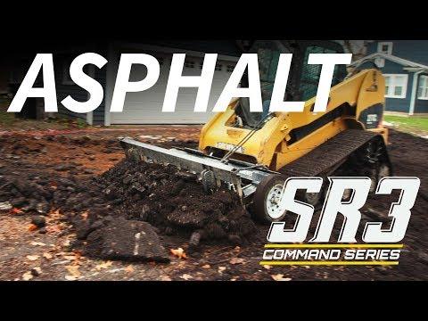 SR3  – Ripping Up Asphalt Driveway