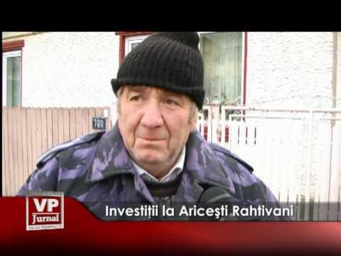Investiţii la Ariceşti Rahtivani
