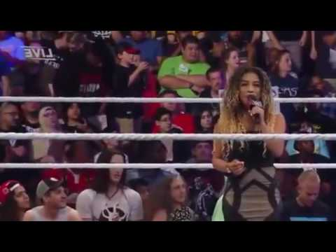 WWE BATTLEGROUND 2016 NATALIA VS BECKY LYNCH FULL MATCH