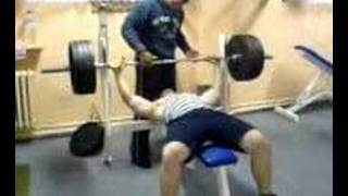 Bench press - 180kg