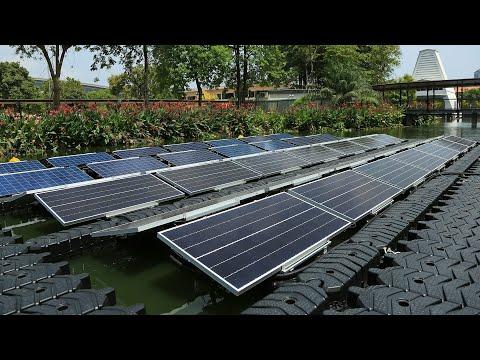 SCG Floating Solar Solutions โซลาร์ฟาร์มลอยน้ำครบวงจร พลังงานทางเลือกที่ยั่งยืน